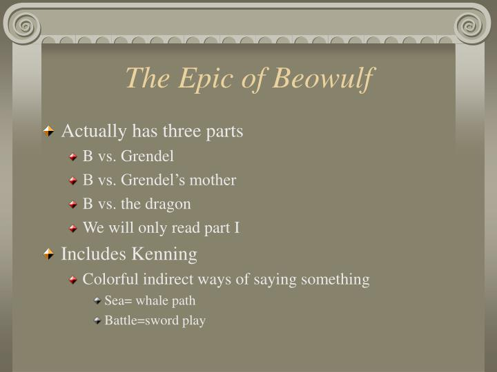 The Epic of Beowulf