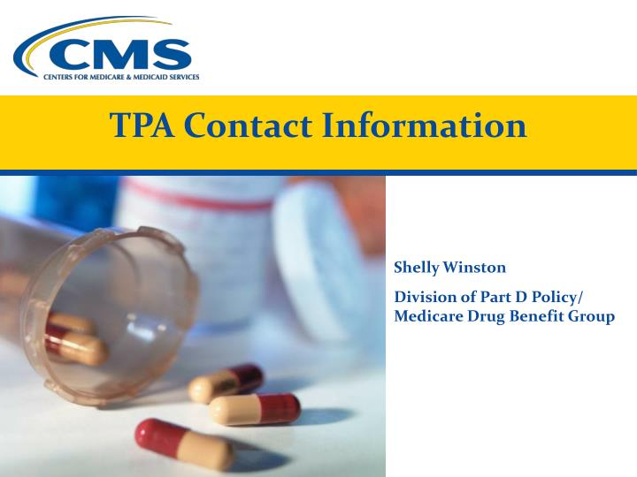 TPA Contact Information