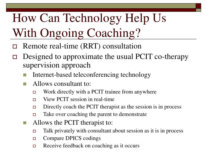 How Can Technology Help Us With Ongoing Coaching?