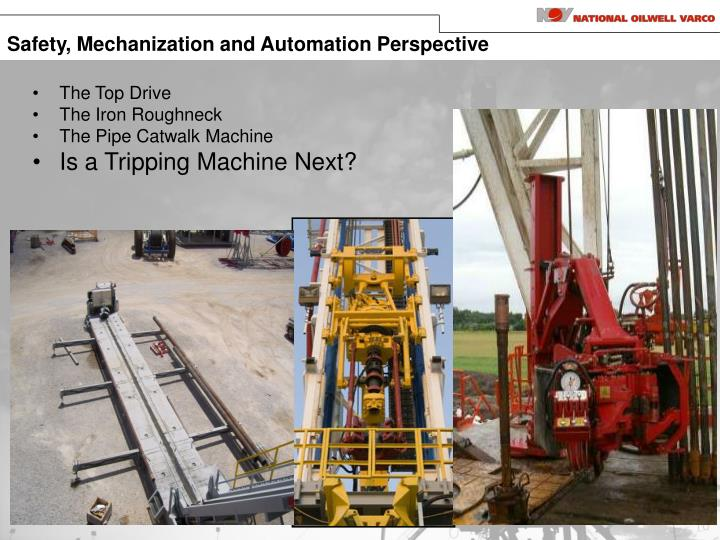 Safety, Mechanization and Automation Perspective