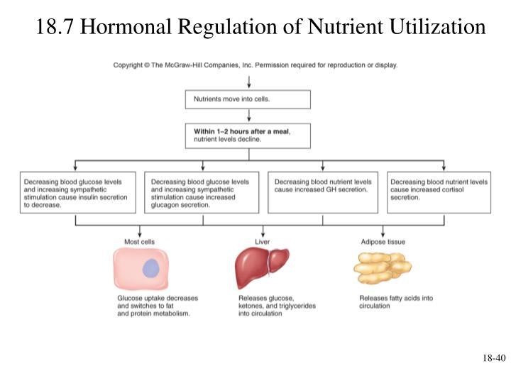 18.7 Hormonal Regulation of Nutrient Utilization