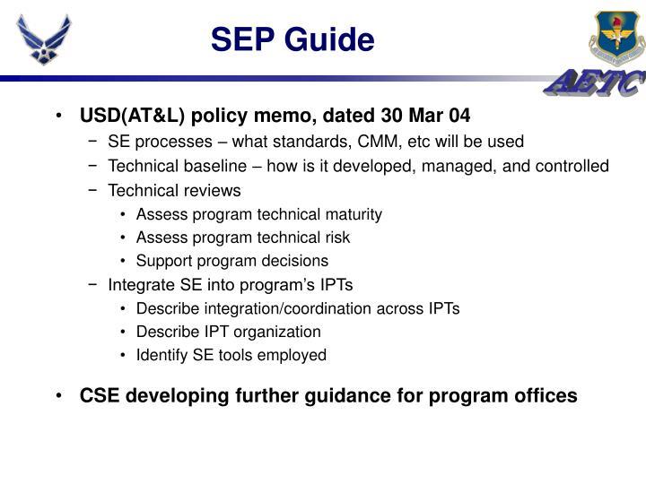 SEP Guide