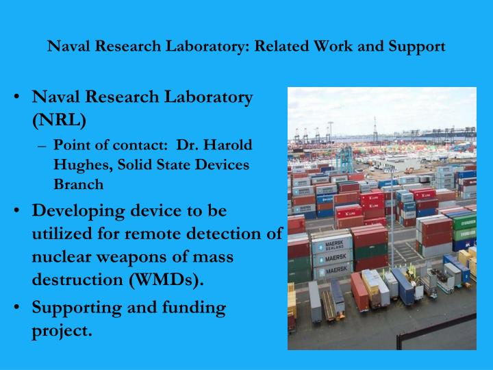 Naval Research Laboratory: Related Work and Support