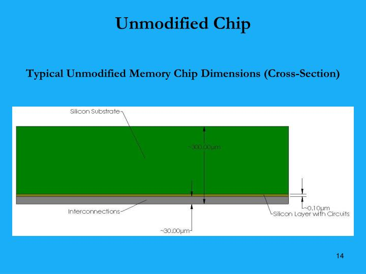Unmodified Chip