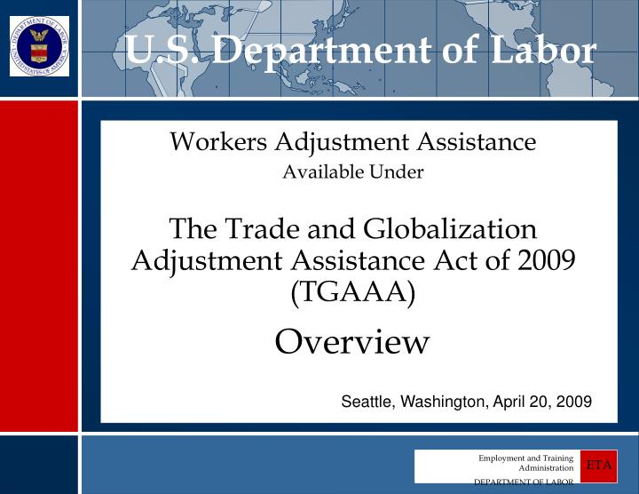 u s department of labor n.