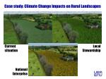 case study climate change impacts on rural landscapes1