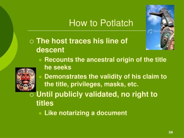 How to Potlatch