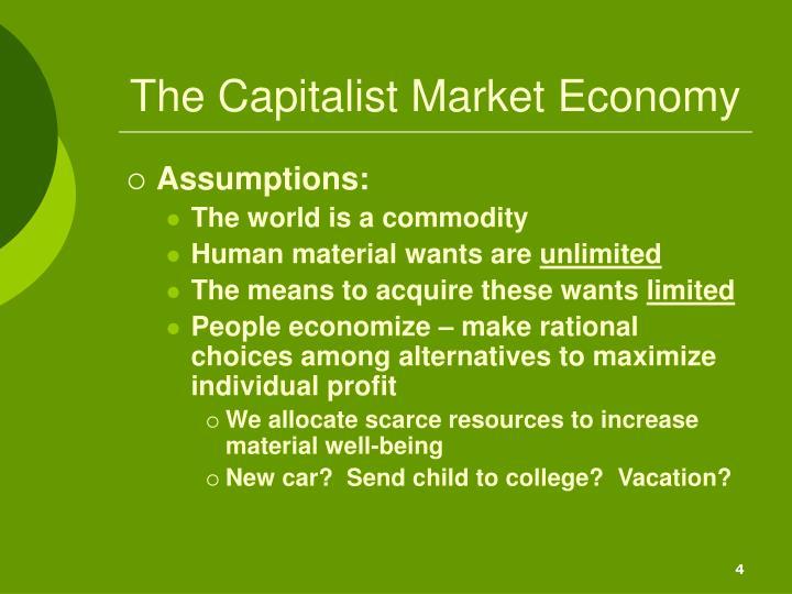 The Capitalist Market Economy