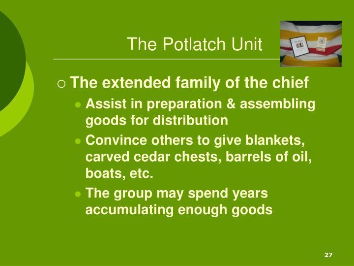 The Potlatch Unit