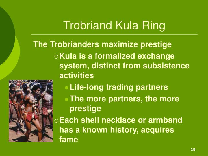 Trobriand Kula Ring