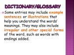 dictionary glossary3