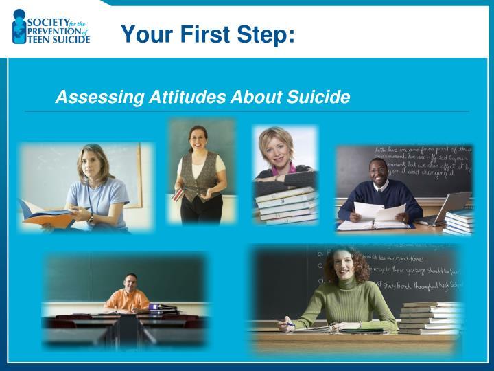 Assessing Attitudes About Suicide