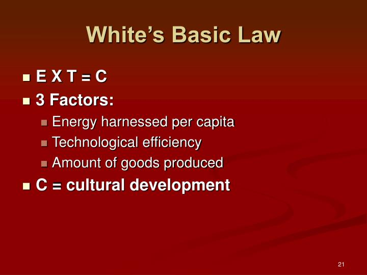 White's Basic Law