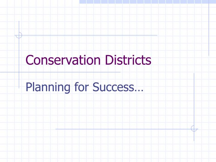 conservation districts n.