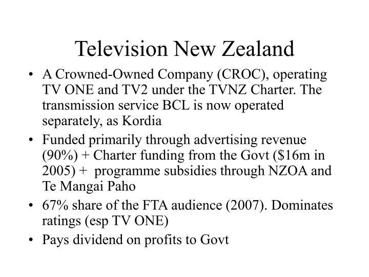 Television New Zealand