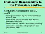 engineers responsibility to the profession cont d2