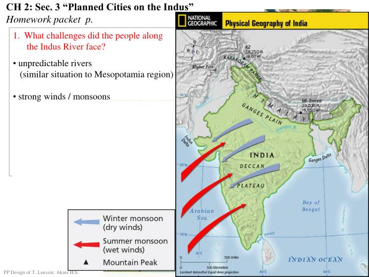 "CH 2: Sec. 3 ""Planned Cities on the Indus"""