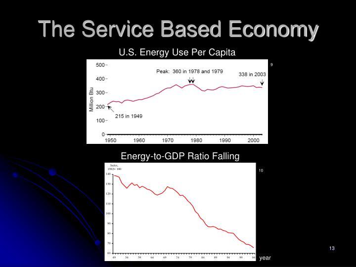 The Service Based Economy