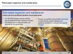 risk based inspection and maintenance