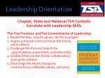 leadership orientation