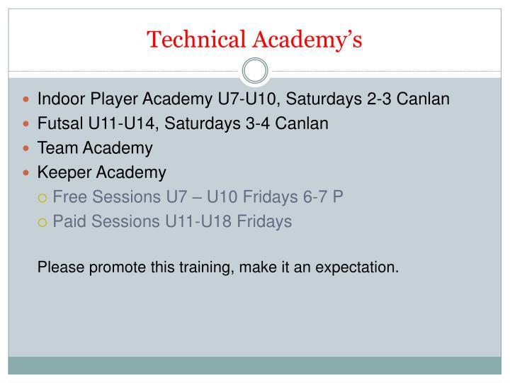 Technical Academy