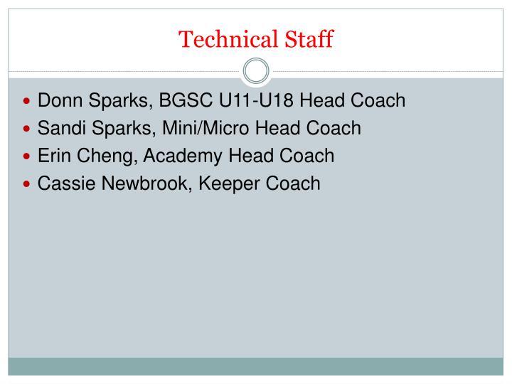 Technical Staff