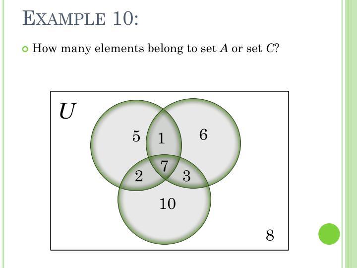 Example 10: