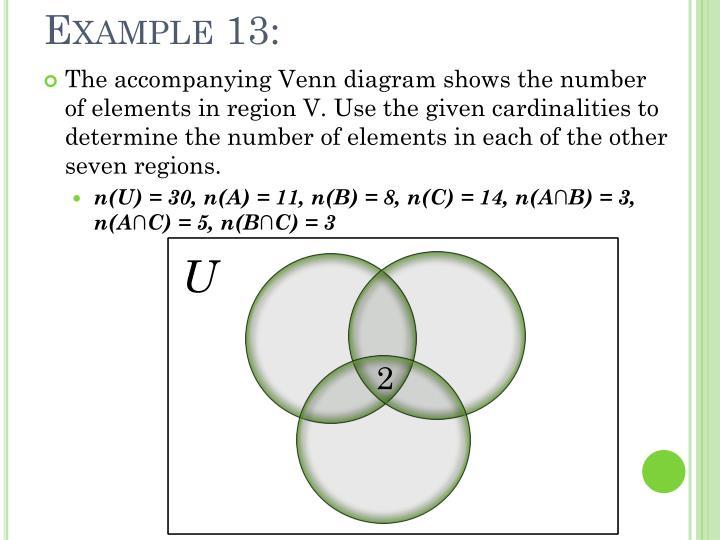 Example 13: