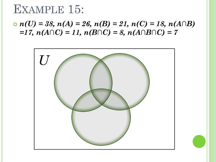 Example 15: