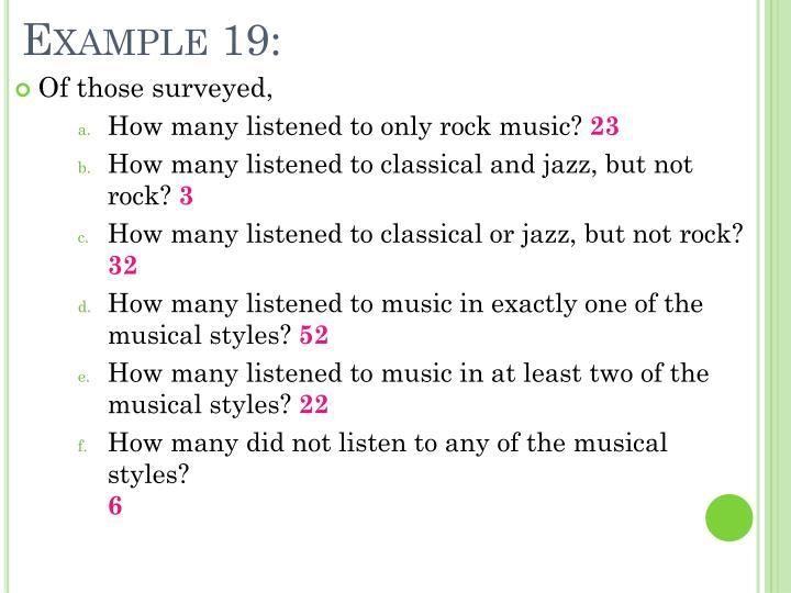 Example 19: