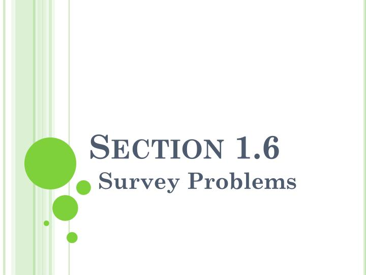 Section 1 6