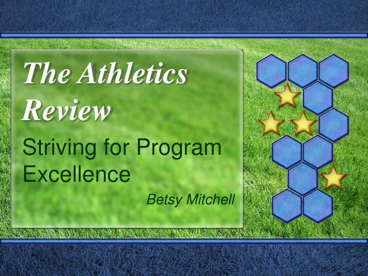 The athletics review