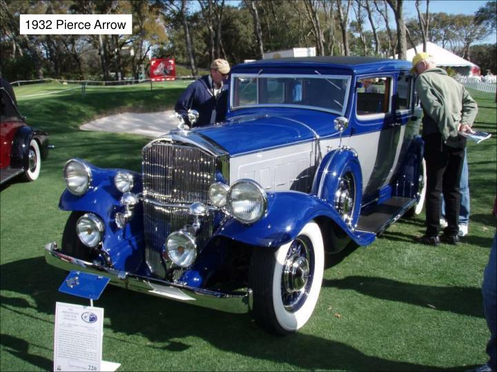 1932 Pierce Arrow
