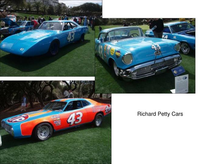 Richard Petty Cars