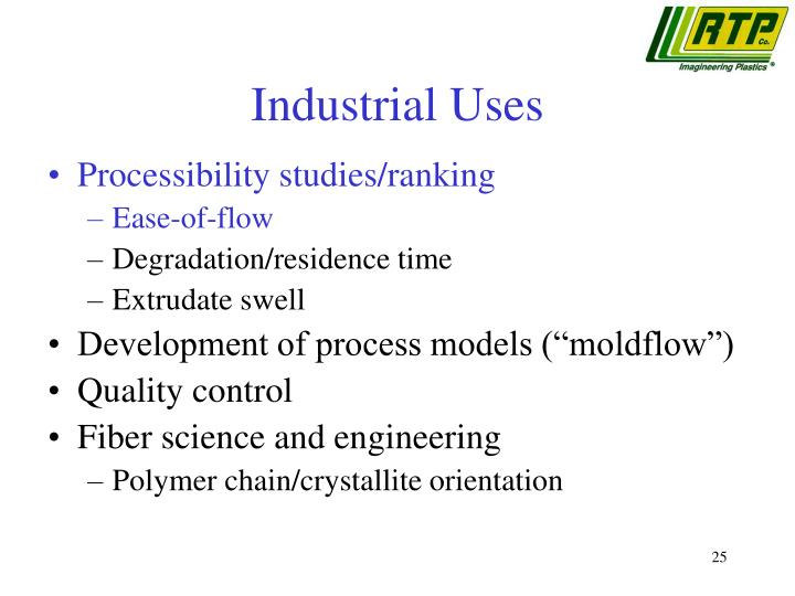 Industrial Uses