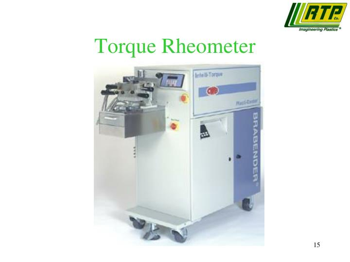 Torque Rheometer