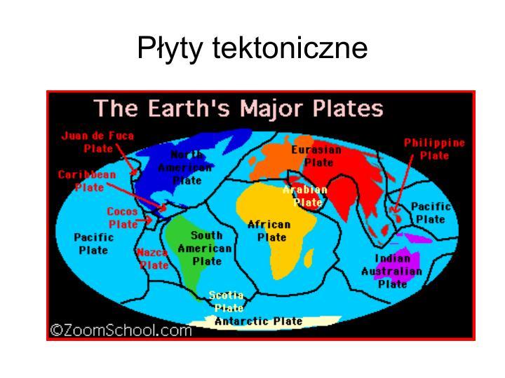 P yty tektoniczne