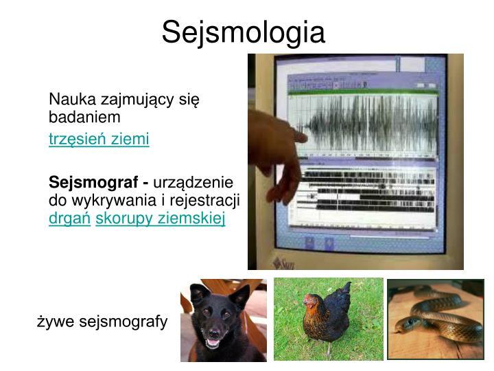 Sejsmologia