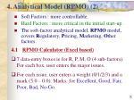 4 analytical model rpmo 2