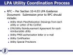 lpa utility coordination process3