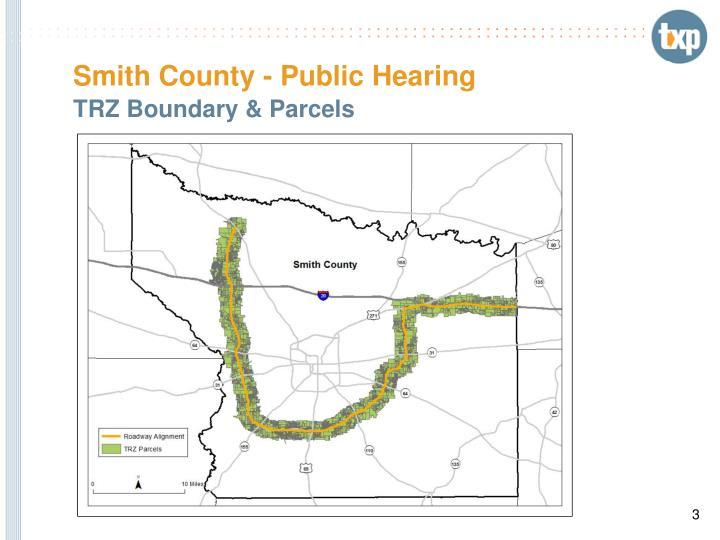 Smith county public hearing2