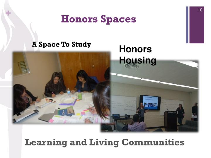 Learning and Living Communities