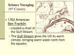 science voyaging 18 th century1