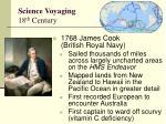 science voyaging 18 th century2