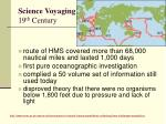 science voyaging 19 th century3