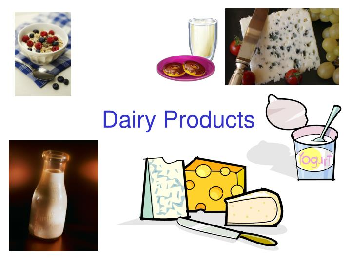 dairy products n.