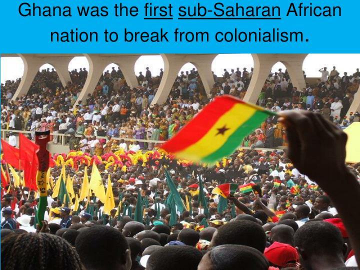 Ghana was the