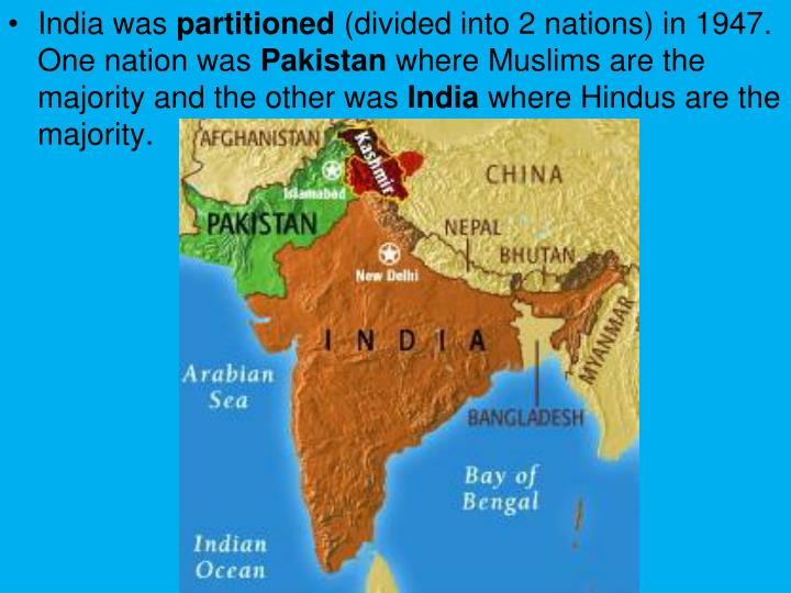 India was