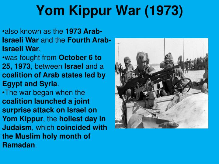 Yom Kippur War (1973)