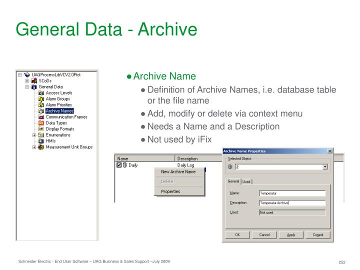 General Data - Archive
